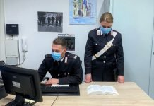 Crevalcore stazione carabinieri