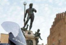 Bologna carabinieri in moto