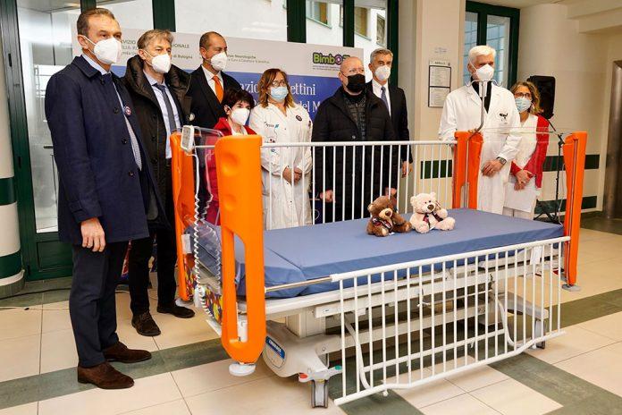 Bologna ospedale Maggiore lettini Pediatria