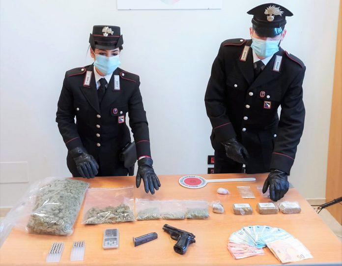 Borgo Panigale droga sequestrata