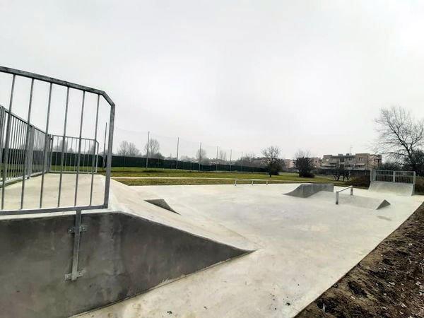 Castello Argile skate park completato