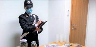 Pianoro carabinieri sequestro droga