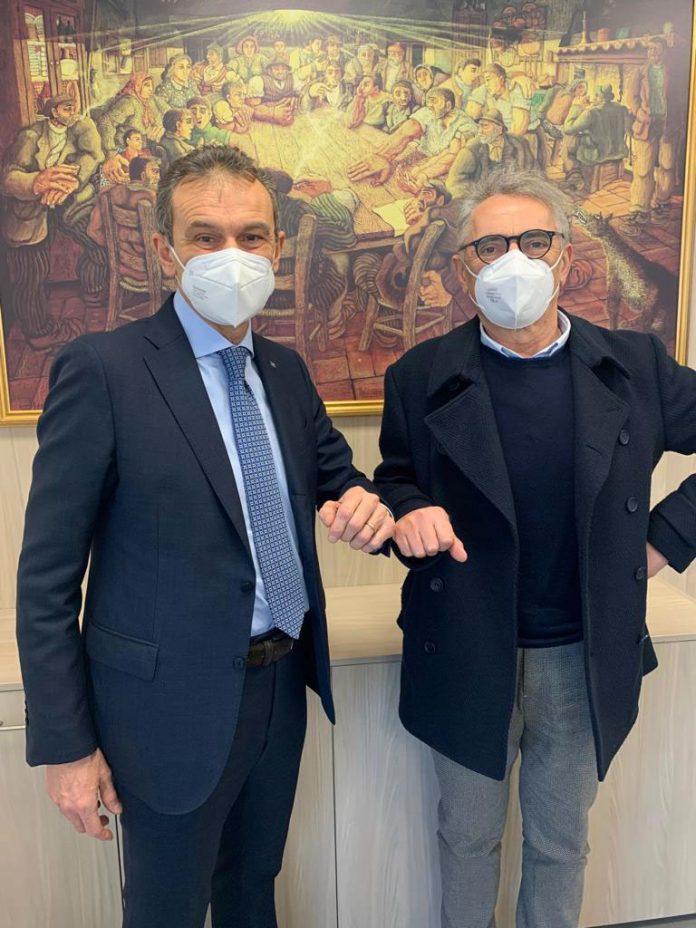 Andrea Rizzoli e Tiberio Rabboni