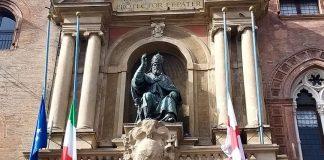 Bologna bandiera mezzasta Congo