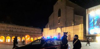 Bologna controlli notturni carabinieri