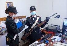 Pianoro armi sequestrate tunisino