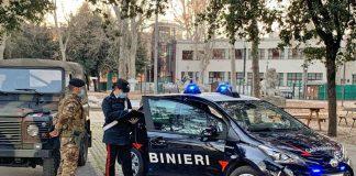 Bologna controlli carabinieri esercito