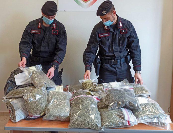 Borgo Panigale droga Carabinieri