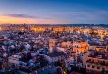 Centro storico Valencia Spagna