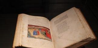 Imola manoscritto facsimile Dante
