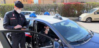 Sanzioni anti covid carabinieri