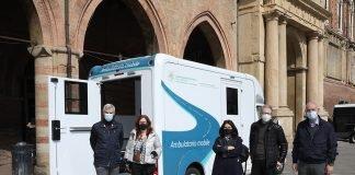 Bologna ambulatorio mobile covid
