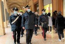 Carabinieri via Indipendenza Bologna