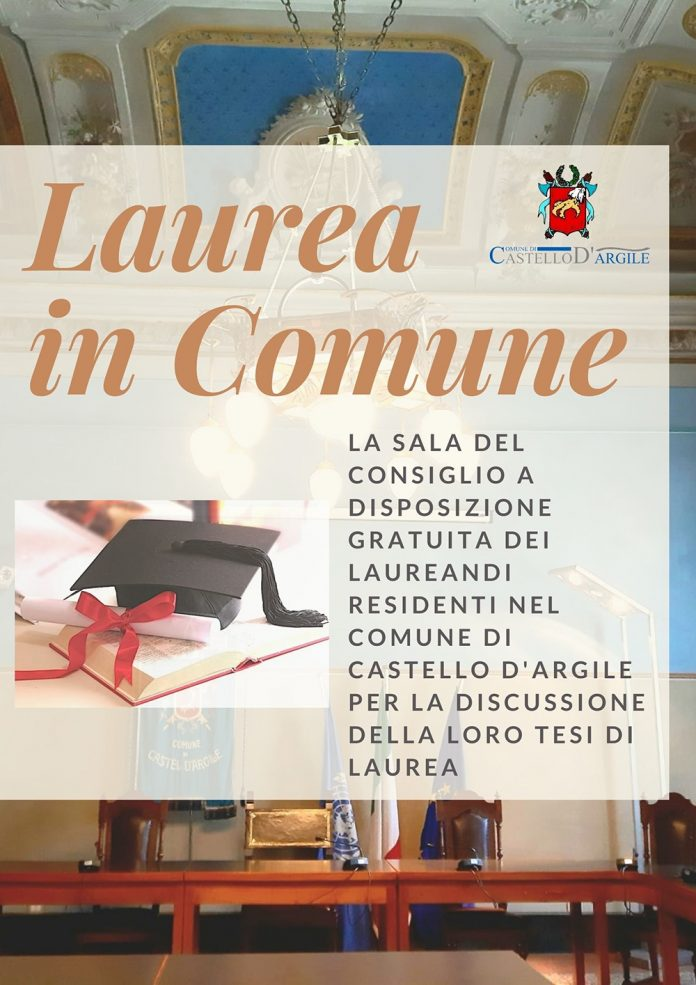 Castello Argile laurea in Comune