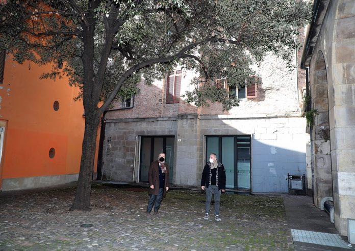 Imola cantiere palazzo comunale