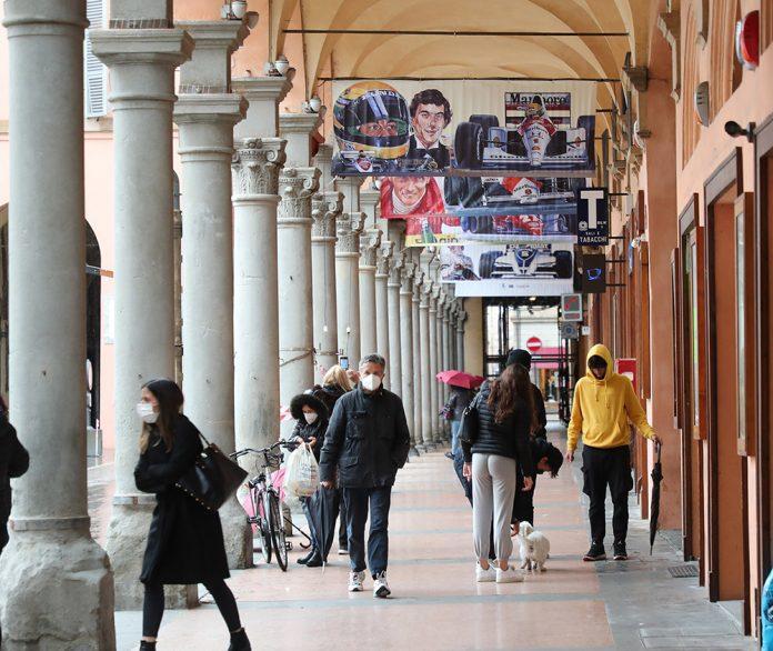 Imola centro storico poster