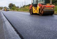 Lavori pavimentazione stradale