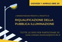 Monte San Pietro illuminazione LED