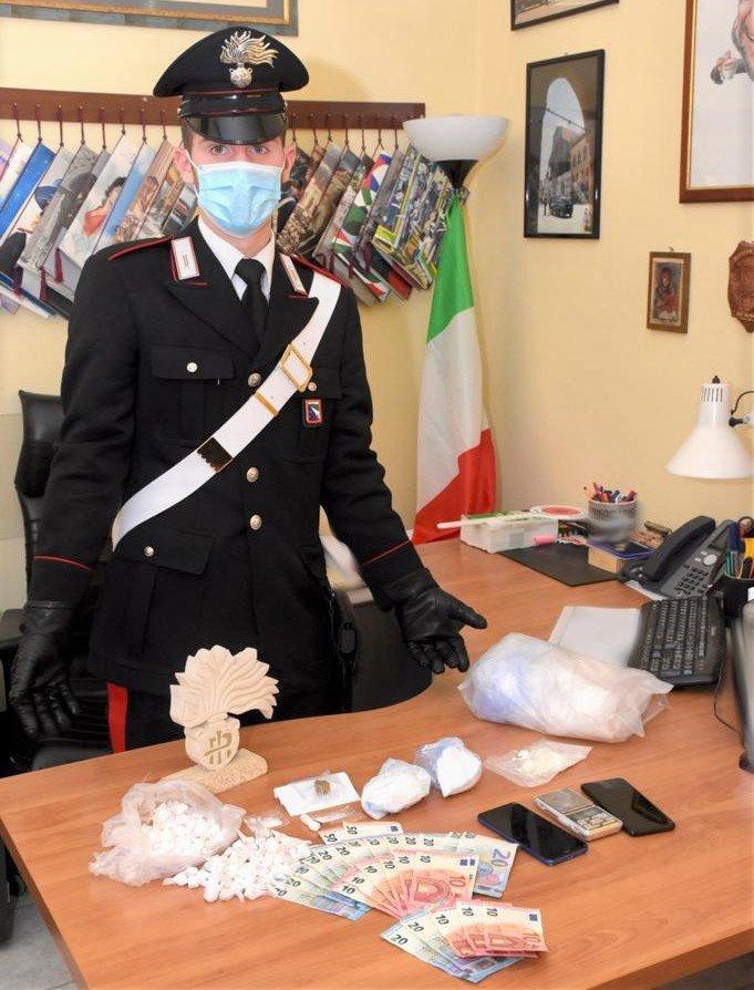 Arresto per spaccio droga repertorio