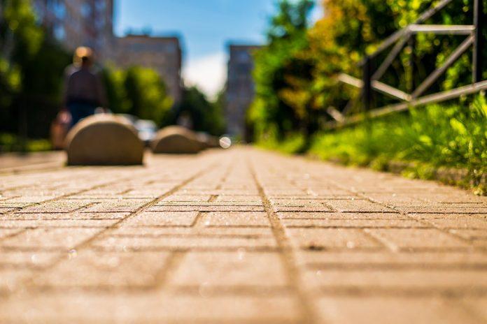 Bologna marciapiede