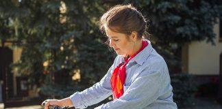 Borsa cestino bici donna