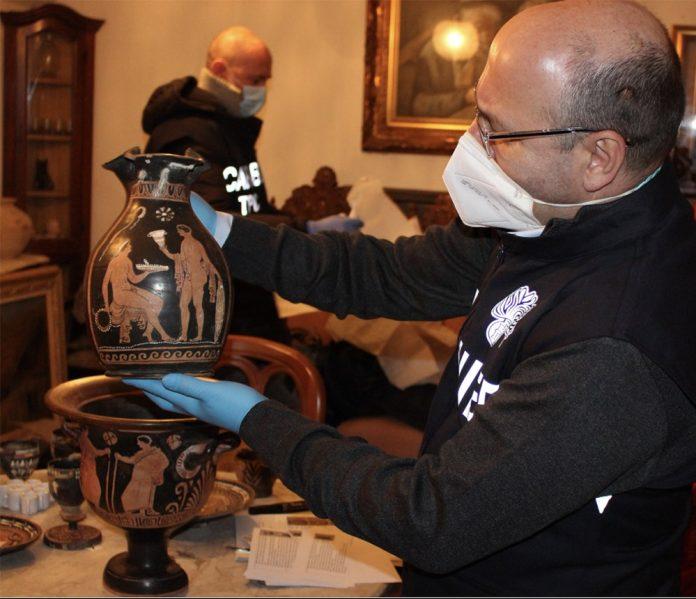 Carabinieri tutela patrimonio Bologna