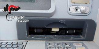 Castel Maggiore tentato furto bancomat
