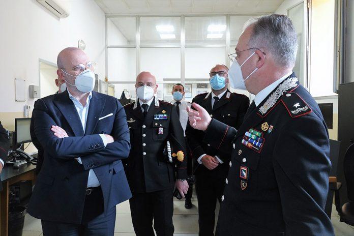 Incontro Bonaccini carabinieri ER