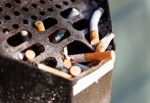 Portacenere sigarette
