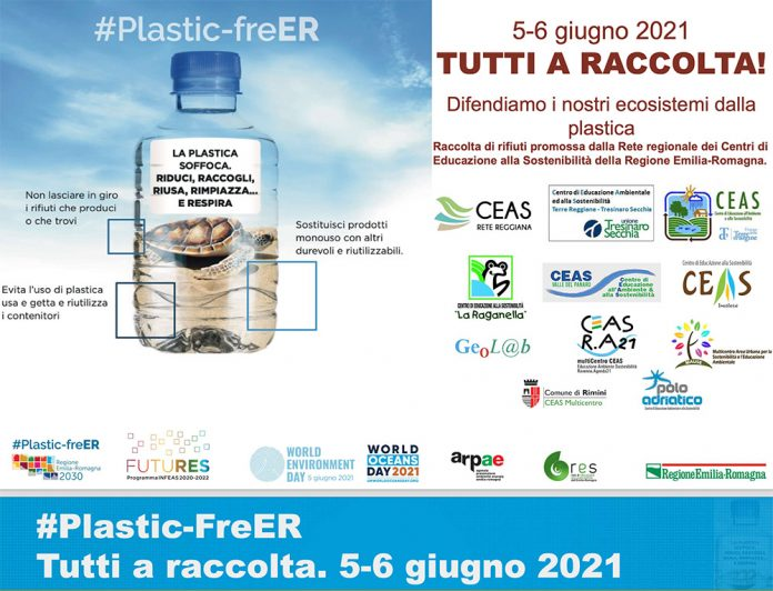 Ambiente raccolta plastica