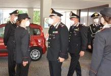 Bologna visita comandante forestale Marzo