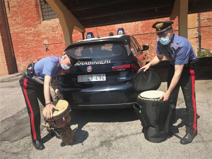 Carabinieri bonghi sequestrati