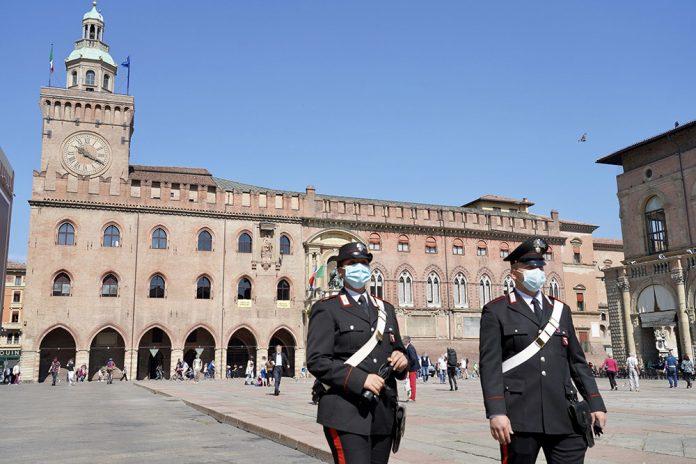 Carabinieri centro Bologna
