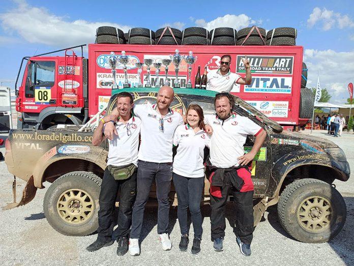 Galletti Maroni vincono rally Grecia2021
