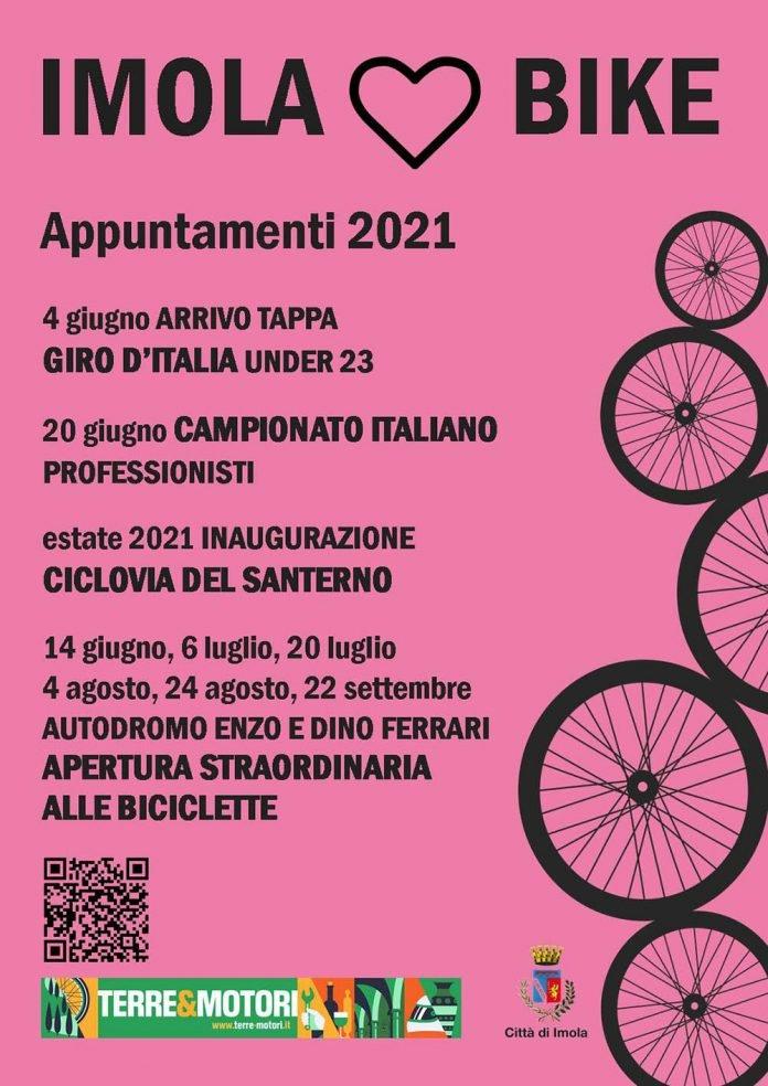 Imola loves bike