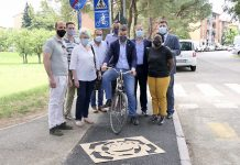 Imola sindaco pista ciclabile