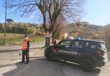 Pattuglia Carabinieri Casalfiumanese