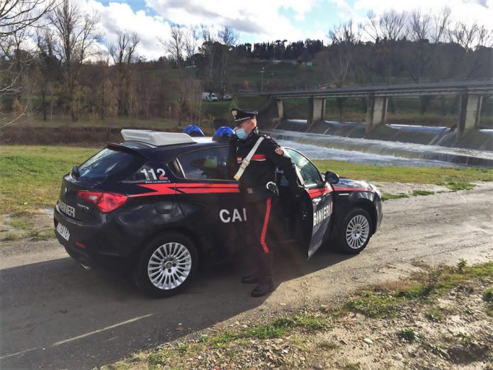 Pattuglia Carabinieri Comune Imola