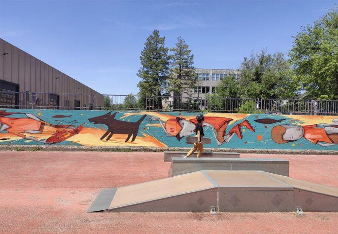 Via Giacosa skatepark Bologna