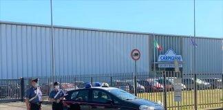 Carabinieri Anzola Emilia azienda Carpigiani