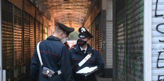 Carabinieri controlli rione Bolognina
