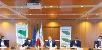 Firma convenzione Nuovo Polo Ematologico Santorsola