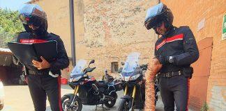 Imola Carabinieri furto rame