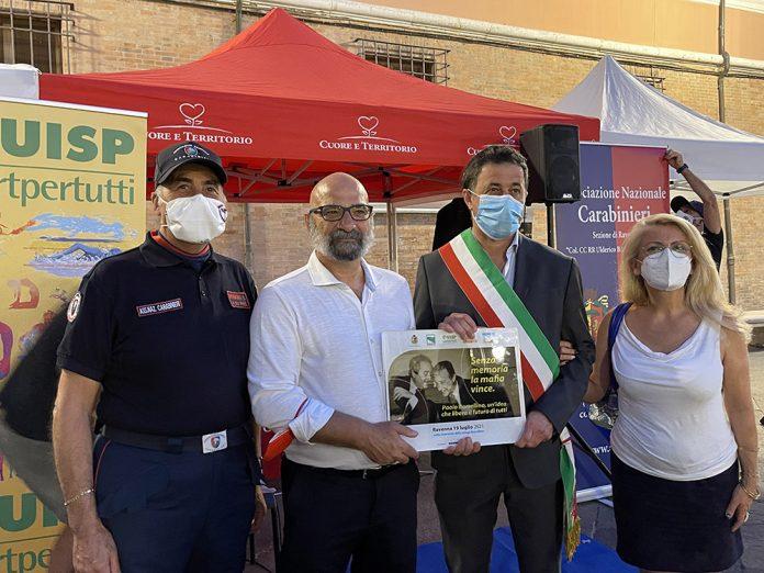 Ravenna manifestazione Borsellino