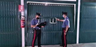 Casalecchio Reno furto garage via del lavoro