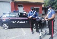 Medicina monopattino sequestrato carabinieri