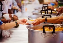 Volontariato mensa senza dimora