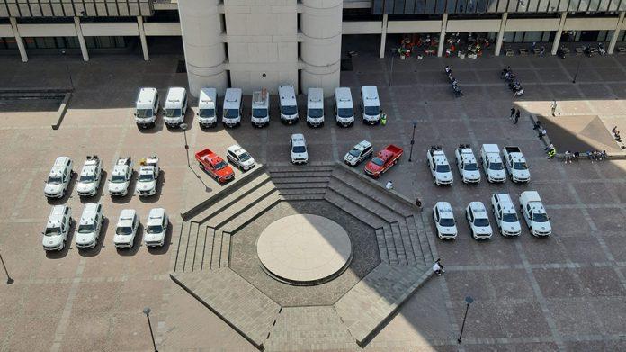 Autoveicoli protezione civile ER