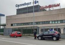 Casalecchio carabinieri Carrefour