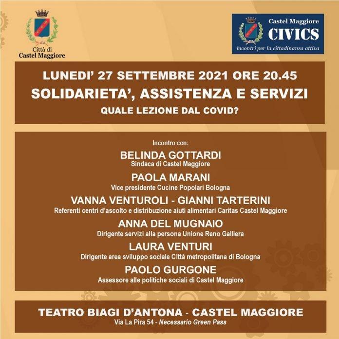 Civics incontro Castel Maggiore